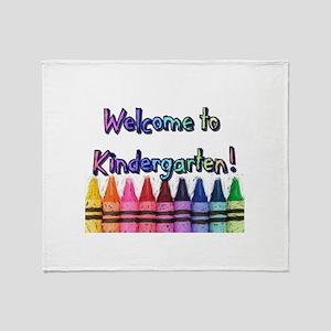Kindergarten Throw Blanket