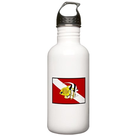 dive fish Stainless Water Bottle 1.0L