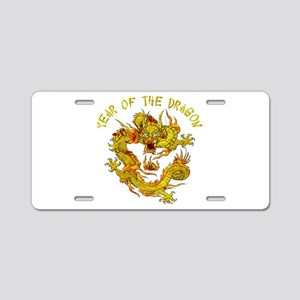 Year Of The Dragon Aluminum License Plate