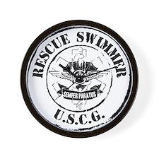 Rescue Swimmer (Ver 2) Wall Clock