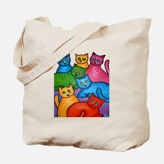 One Cat Two Cat Tote Bag