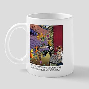 Blame Some Stuff On Me Mug