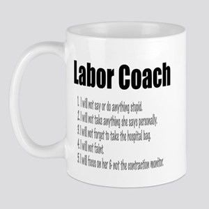 Labor Coach Ceramic Mug