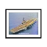 USS HANCOCK Framed Panel Print