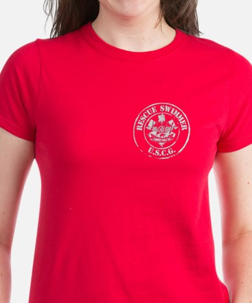 Rescue Swimmer (Ver 2) Women's Dark T-Shirt
