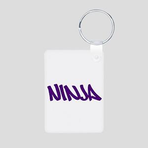 Ninja Aluminum Photo Keychain