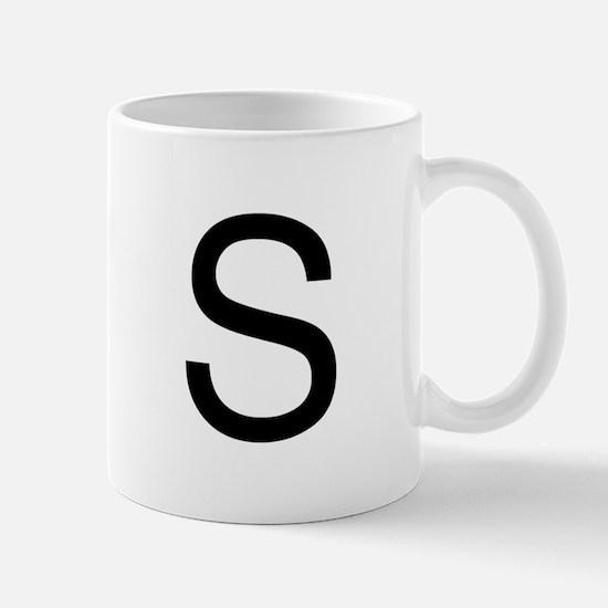 The Letter S Mug