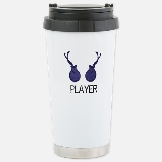 Player Stainless Steel Travel Mug