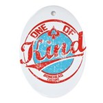 One of A kind 2 Ornament (Oval)