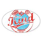 One of A kind 2 Sticker (Oval 50 pk)