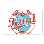 One of A kind 2 Sticker (Rectangle)