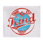 One of A kind 2 Throw Blanket