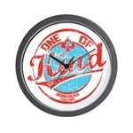 One of A kind 2 Wall Clock