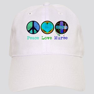 Peace Love Murse Cap