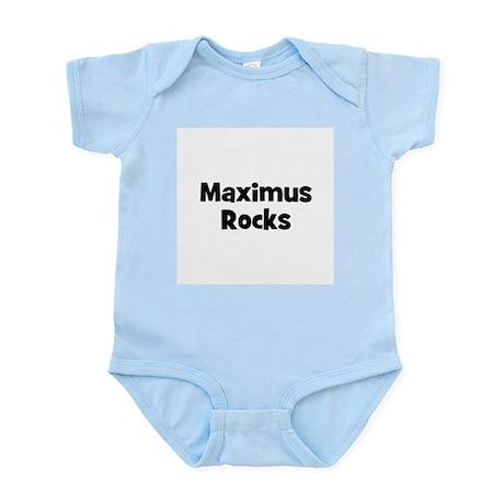 Maximus Rocks Infant Creeper