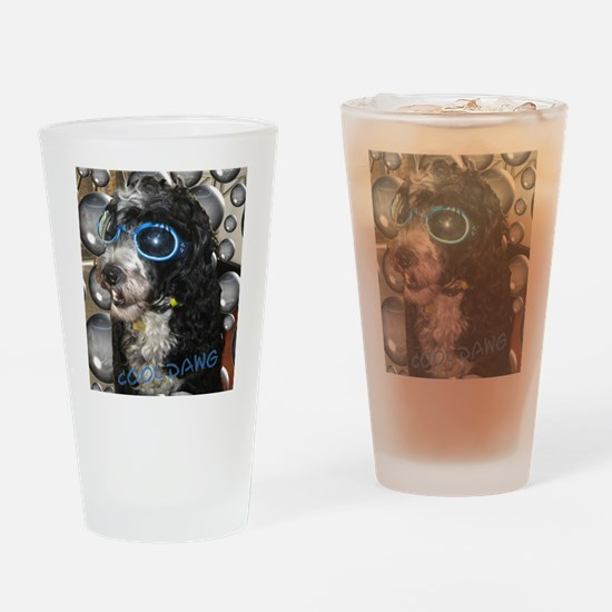 Cool Dawg Drinking Glass