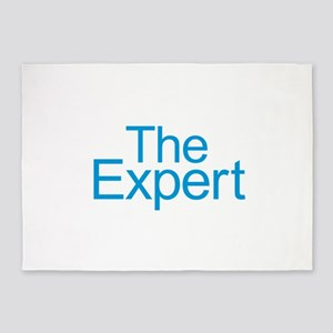 The Expert - Blue 5'x7'Area Rug