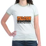 Falcon University Jr. Ringer T-Shirt