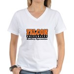 Falcon University Women's V-Neck T-Shirt