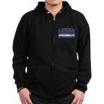 Lunar University Zip Hoodie (dark)