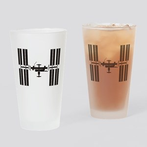 Space Station Drinking Glass