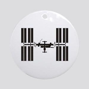 Space Station Ornament (Round)