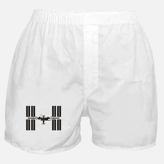 Space Station Boxer Shorts