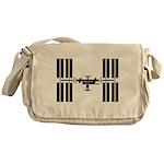 Space Station Messenger Bag