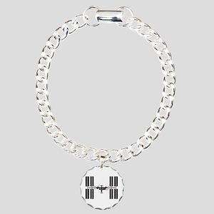 Space Station Charm Bracelet, One Charm