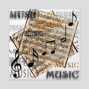 Vintage Music Queen Duvet