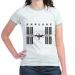 ISS / Explore Jr. Ringer T-Shirt