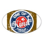 New Section Sticker (Oval 50 pk)