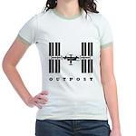 ISS / Outpost Jr. Ringer T-Shirt