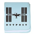 ISS / Outpost baby blanket
