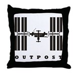 ISS / Outpost Throw Pillow