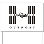 ISS / Outpost Yard Sign