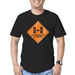 ISS / Work Men's Fitted T-Shirt (dark)