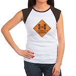 ISS / Work Women's Cap Sleeve T-Shirt