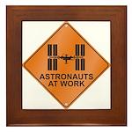 ISS / Work Framed Tile