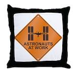 ISS / Work Throw Pillow