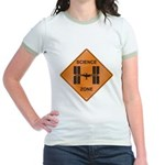 ISS / Science Zone Jr. Ringer T-Shirt