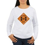 ISS / Science Zone Women's Long Sleeve T-Shirt
