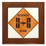 ISS / Science Zone Framed Tile