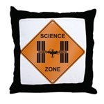 ISS / Science Zone Throw Pillow