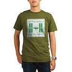 Visiting Vehicle Organic Men's T-Shirt (dark)