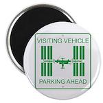 Visiting Vehicle Magnet