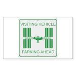 Visiting Vehicle Sticker (Rectangle 10 pk)
