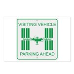 Visiting Vehicle Postcards (Package of 8)