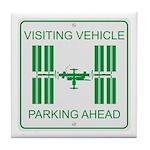 Visiting Vehicle Tile Coaster