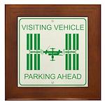 Visiting Vehicle Framed Tile